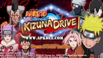 Naruto Shippuden Kizuna Drive ISO PSP