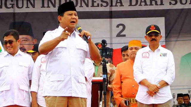 Prabowo Ingatkan soal Pernyataan, jika Perang RI Hanya Bertahan 3 Hari
