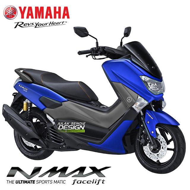 Yamaha, Hadirkan NMAX 155 Model 2018