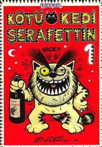 Kötü Kedi Şerafettin 1 - Bülent Üstün
