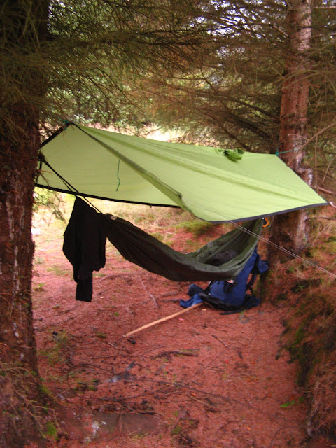 The Slow Adventure Swinging To Sleep Hammock Camping