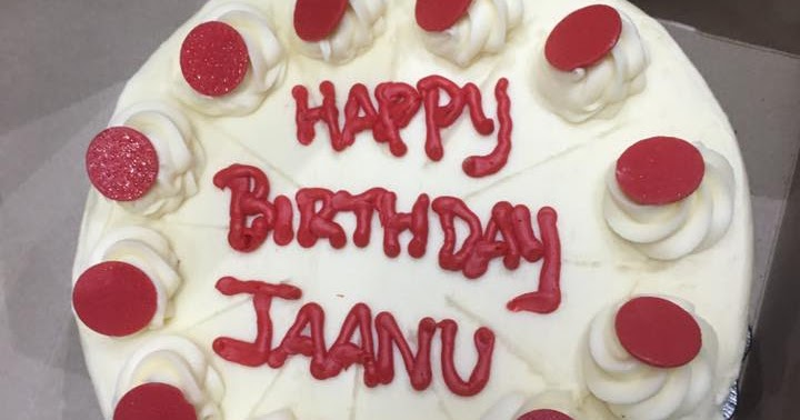Birthday Name Cake Happy Birthday Jaanu Cake