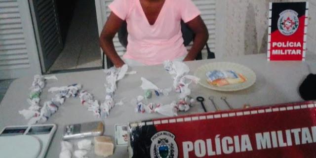 PM apreende drogas ao verificar denúncia de abandono de incapaz em Pombal