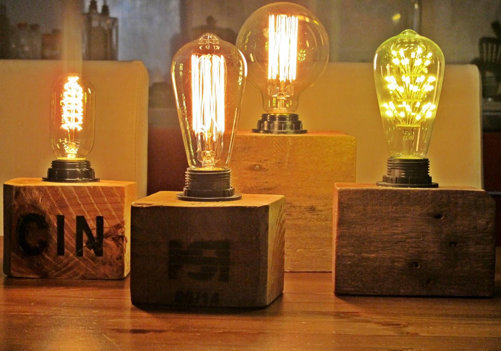 Los achiperres de montse lamparas vintage - Lamparas con palets ...
