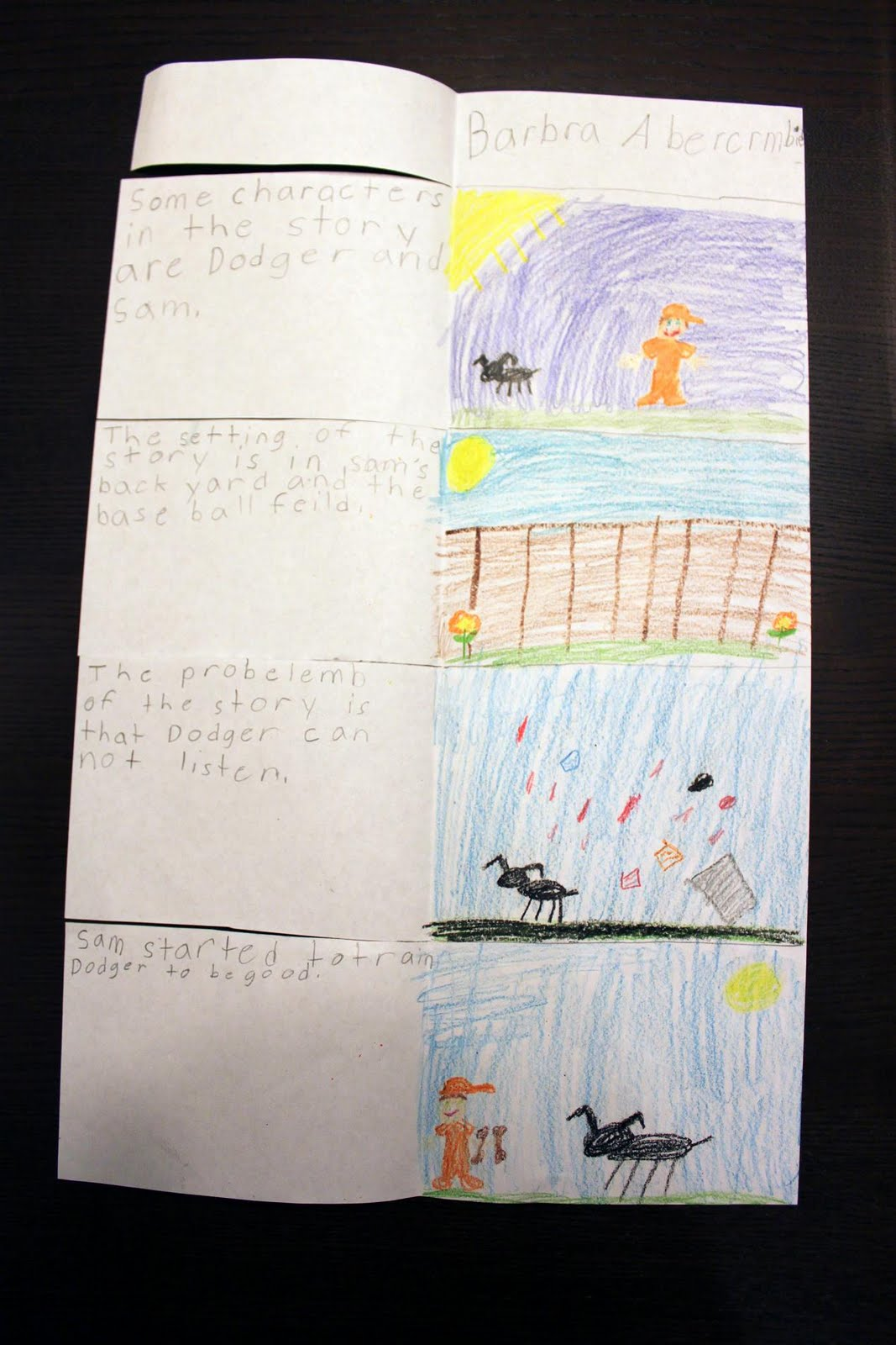 Simply Second Grade Story Elements Flip Flap Book