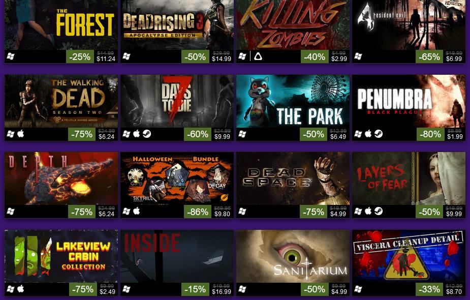 Steam Halloween Sale Goes On - Game News Plus