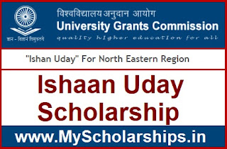 Ishan Uday Scholarship 2019-20 Online Form, Apply Online