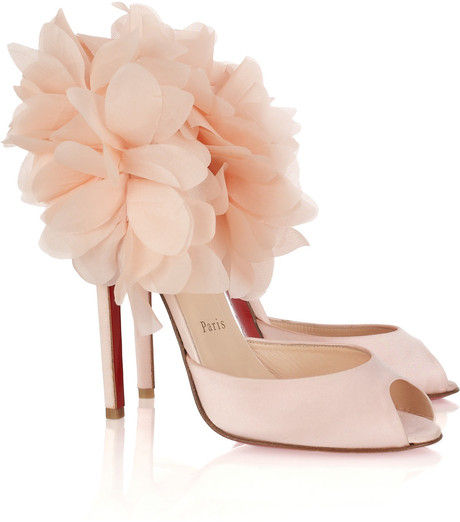 low priced 6f833 9ef4b 1001 fashion trends: Christian Louboutin Carnaval Satin ...
