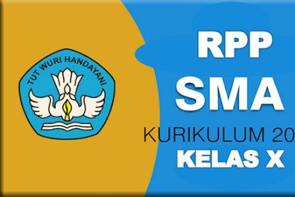 RPP Matematika Kelas X SMA Kurikulum 2013 (Revisi)