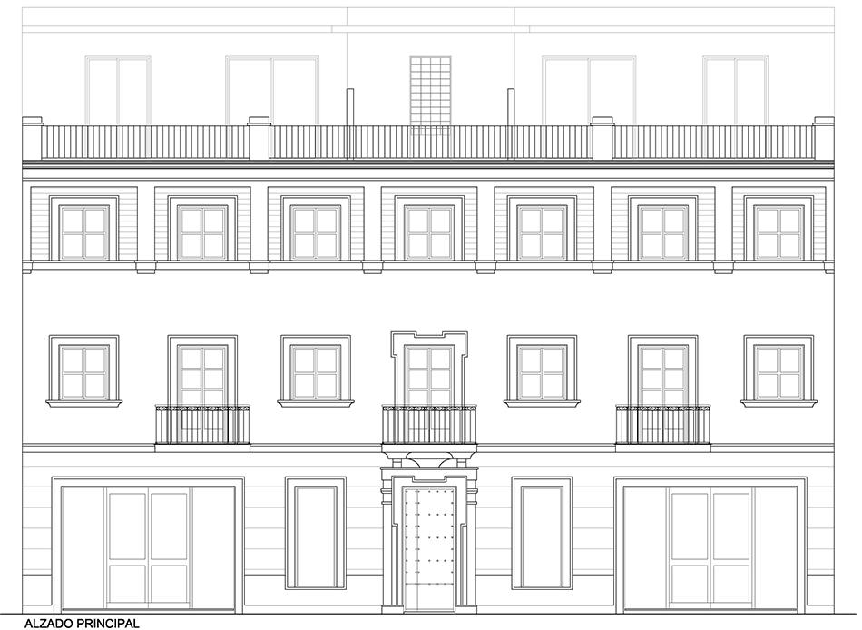 Estudio Honorio Aguilar - Edificio Calle Niebla