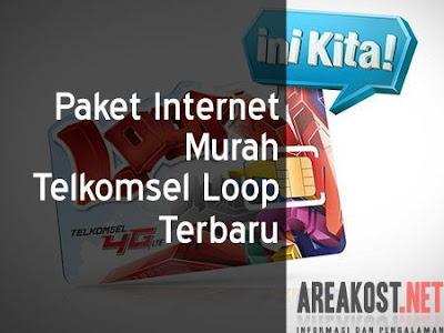 Paket Internet Murah Telkomsel Loop Terbaru