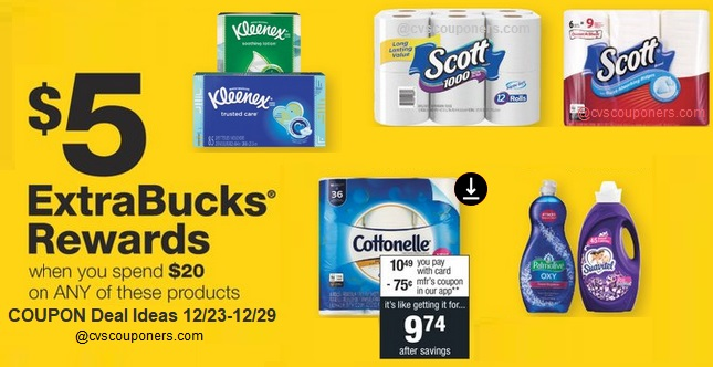 http://www.cvscouponers.com/2018/12/5-extrabucks-when-you-spend-20-cvs-deals.html