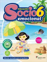 Educación Socioemocional 6- sexto grado - primaria - nuevo modelo educativo