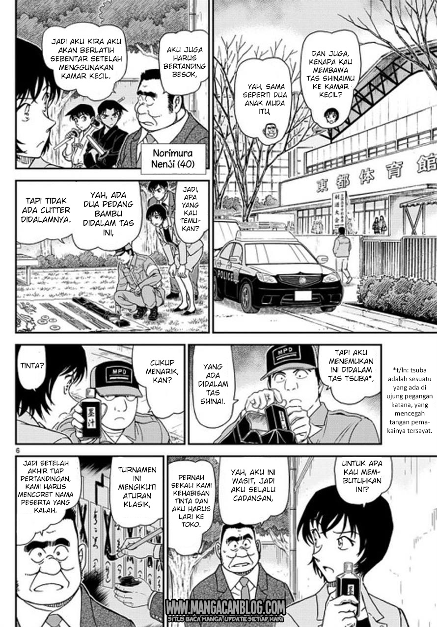 Dilarang COPAS - situs resmi www.mangacanblog.com - Komik detective conan 992 - waktumu sudah tiba 993 Indonesia detective conan 992 - waktumu sudah tiba Terbaru 6|Baca Manga Komik Indonesia|Mangacan