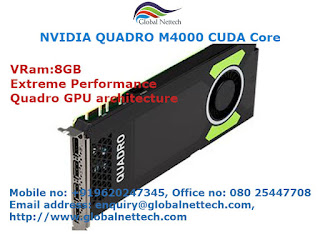 NVIDIA Quadro M4000 CUDA core Graphics cards on sale| Global Nettech