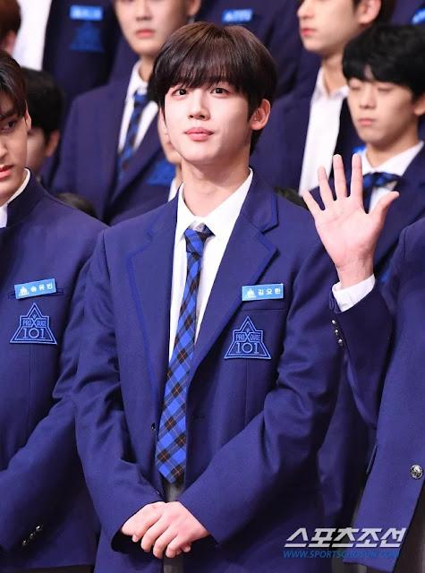 kim wooseok ifk210519 - Kim Wooseok Produce X 101, Sabet Ranking No. 1 Di Peringkat Rating Popularitas Non-Drama