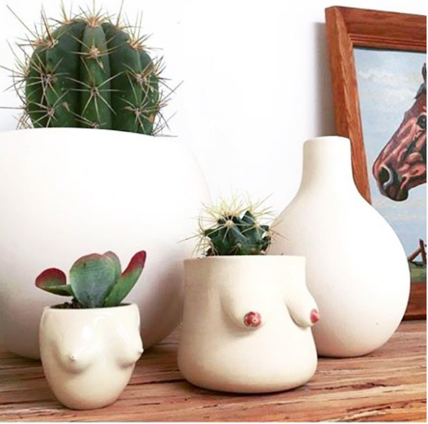 These Boob Planters are Awesome- design addict mom