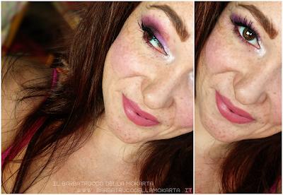 recensione makeup FUTURE blush ombretto - Collezione Mutations -Neve cosmetics