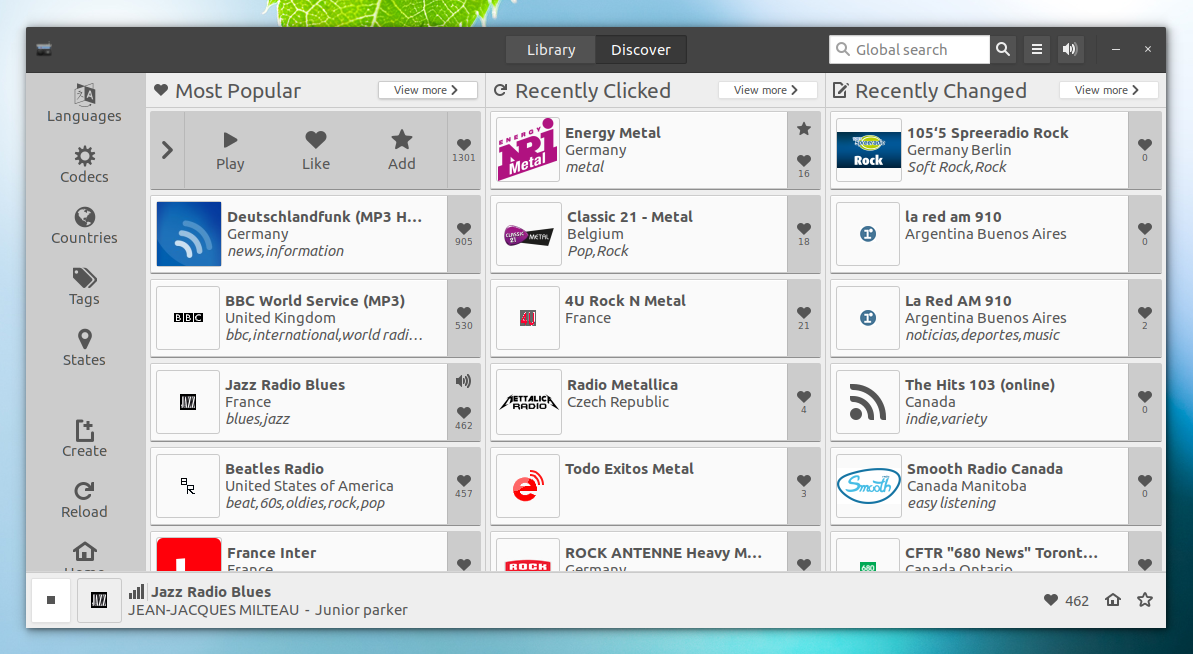 6 Cool Internet Radio Players For Linux ~ Web Upd8: Ubuntu