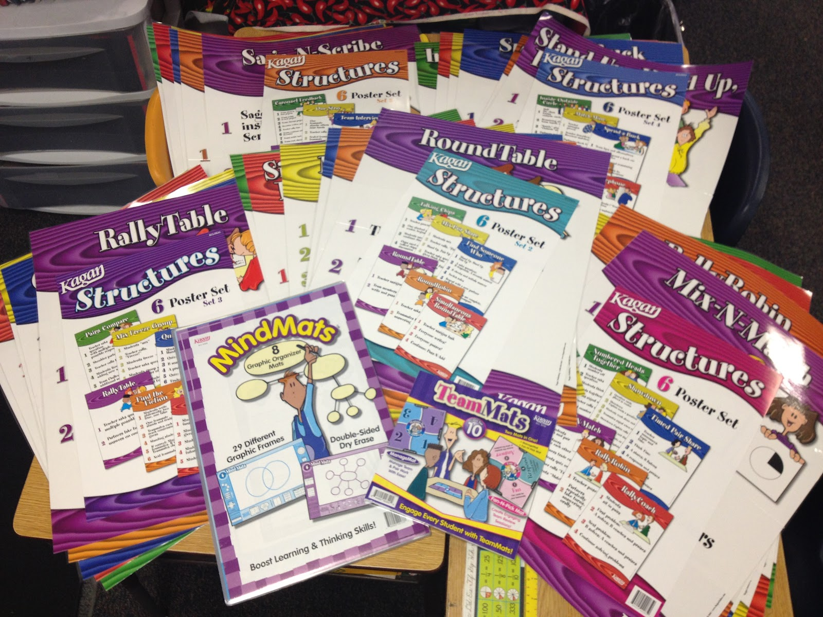 Printable Kagan Structures Posters