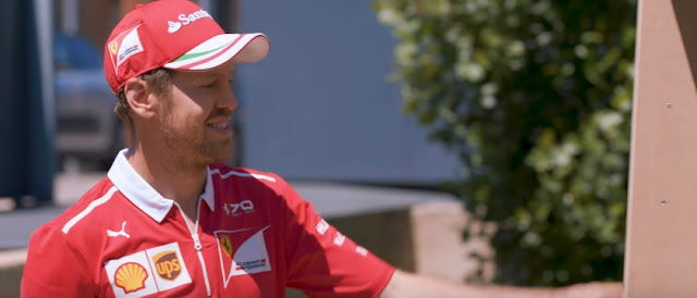 F1 Ferrari Driver Kimi Raikkonen Sends His Scuderia Teammate Sebastian Vettel A Special Package via UPS
