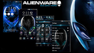 Download Tema Alienware APK For Asus Zenfone