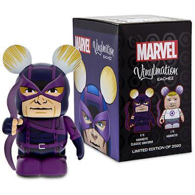 Hawkeye Marvel Vinylmation Eachez Vinyl Figures by Disney – Classic Hawkeye & Modern Hawkeye