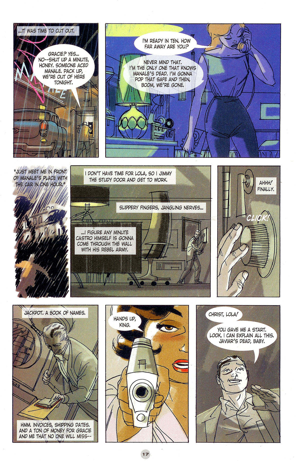 Read online Solo (2004) comic -  Issue #5 - 18