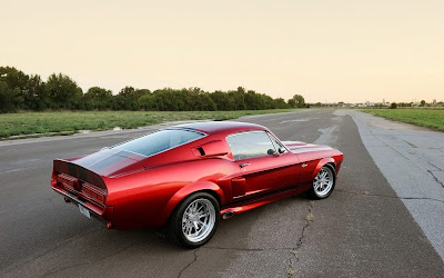 ford mustang 1967 widescreen hd wallpaper