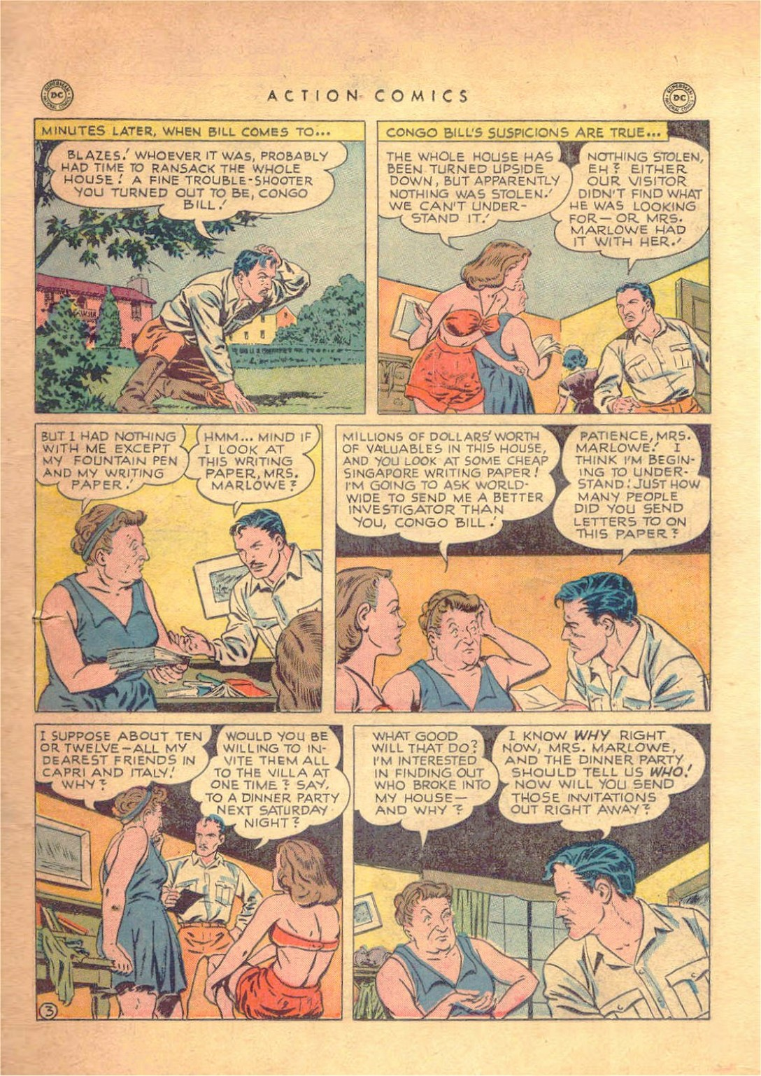 Read online Action Comics (1938) comic -  Issue #138 - 34