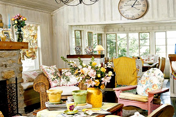Cottage Style Decorating On A Budget] Cottage Style ...
