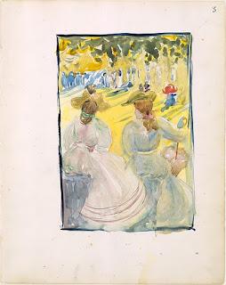 victorian, watercolor, art