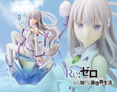 Emilia 1/8 de Re: Zero Kara Hajimeru Isekai Seikatsu - Kotobukiya