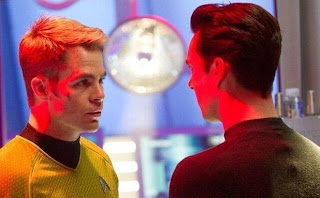 Star Trek Into Darkness Chris Pine Benedict Cumberbatch