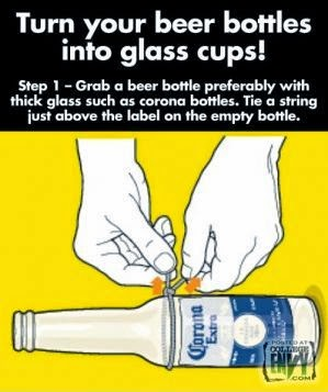 Cara Membuat Kerajinan Tangan - Tips Cara Memotong Botol 1