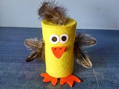 Reciclaje de tubos de papel film en juguetes sostenibles