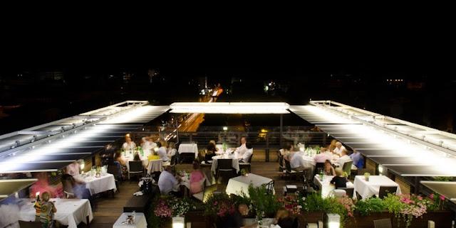 Restaurante Quartopiano Suite Restaurant em Rimini