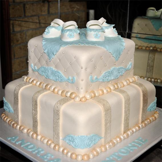 Delana S Cakes Vintage Christening Cake