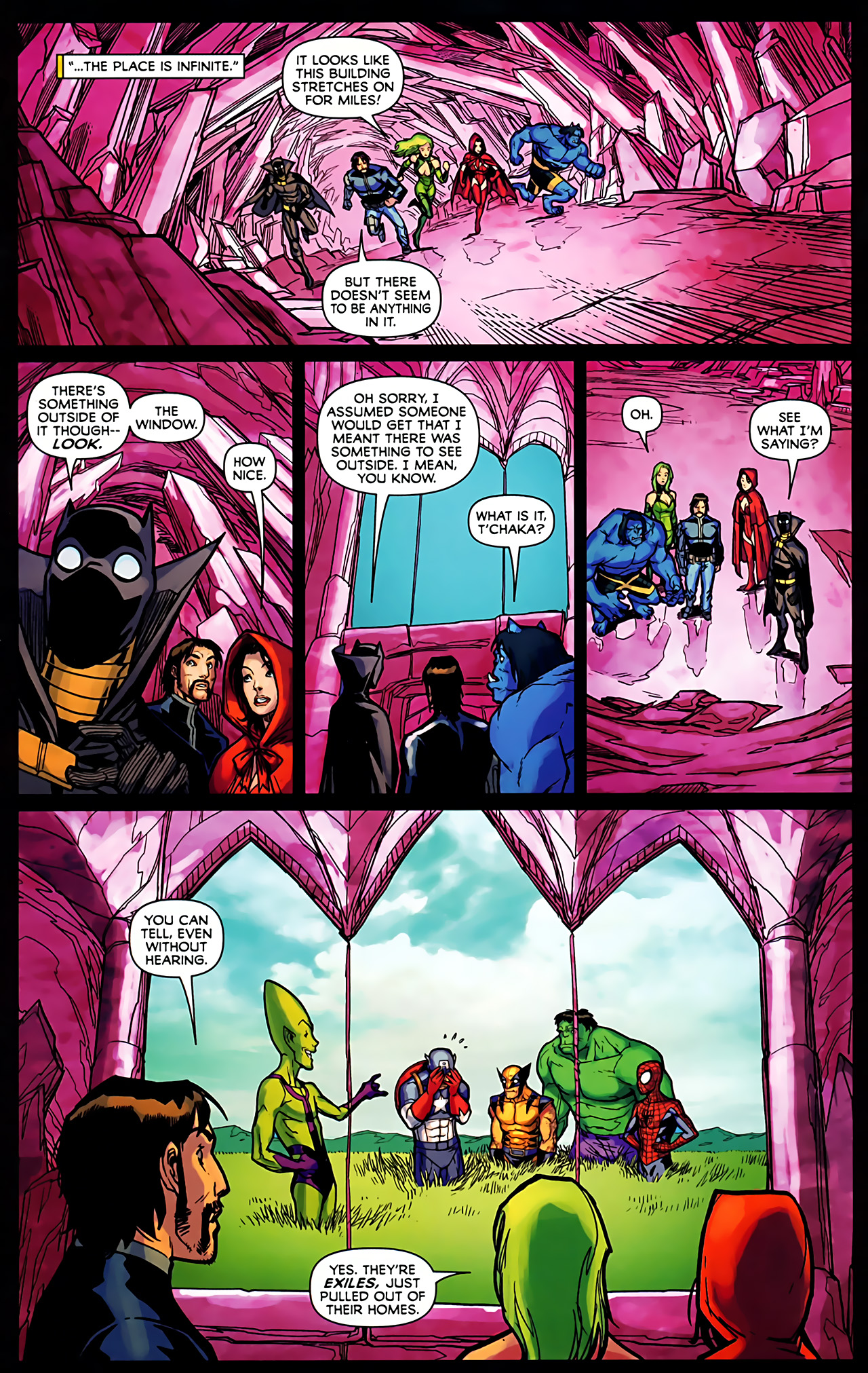 Read online Exiles (2009) comic -  Issue #6 - 22