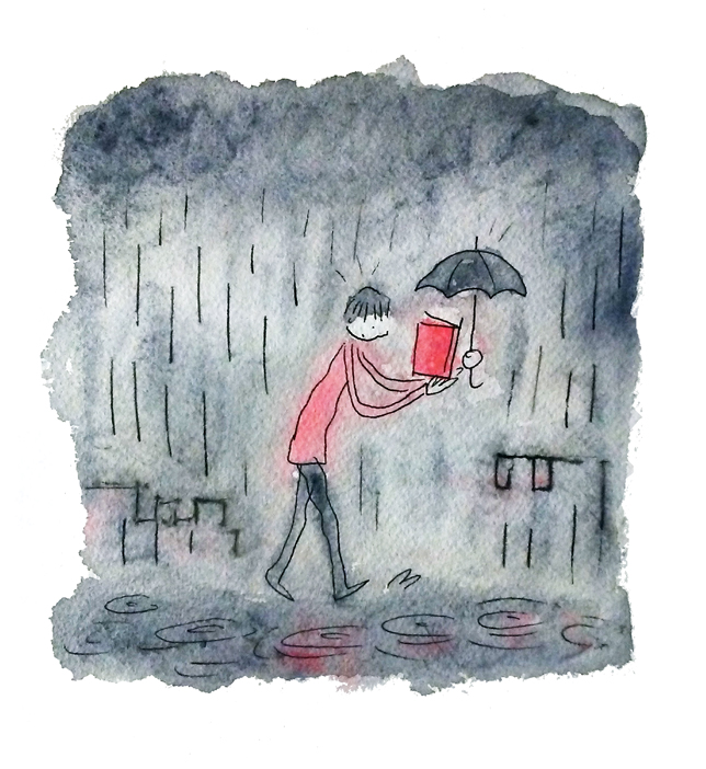 Rainy Day Reading from Grant Snider