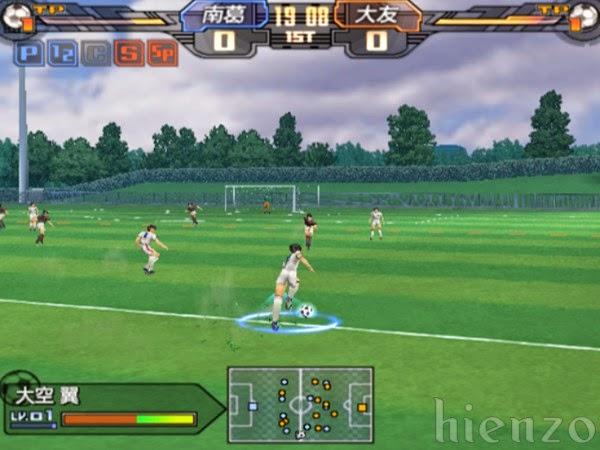 Captain Tsubasa PS2 Gameplay