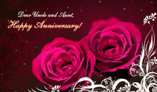 happy anniversary wishes to uncle and aunty in Hind