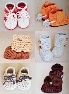 Super Cute Crochet for Little Feet by Vita Apala - pg 48