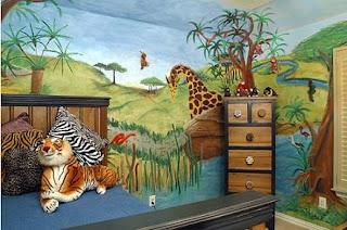 Habitación niño animales