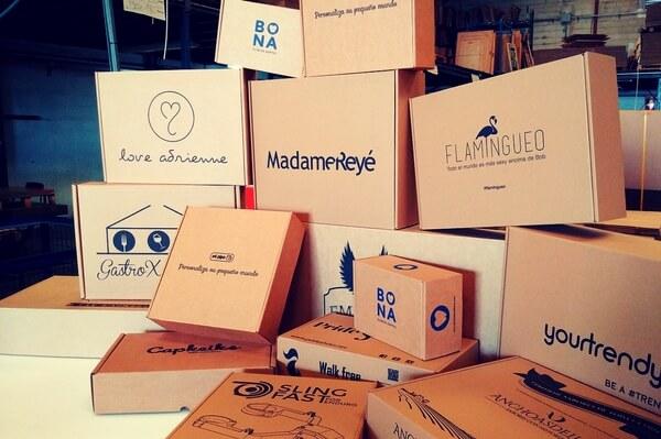 cajas para tiendas online