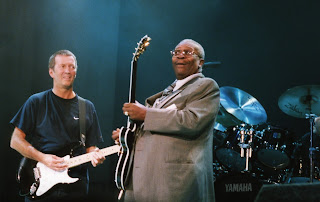 Eric Clapton and BB King live onstage in London, England as part of 24 Nights series of concerts. Earl's Court, London.