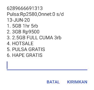 Paket 2.5GB Tri Terbaru