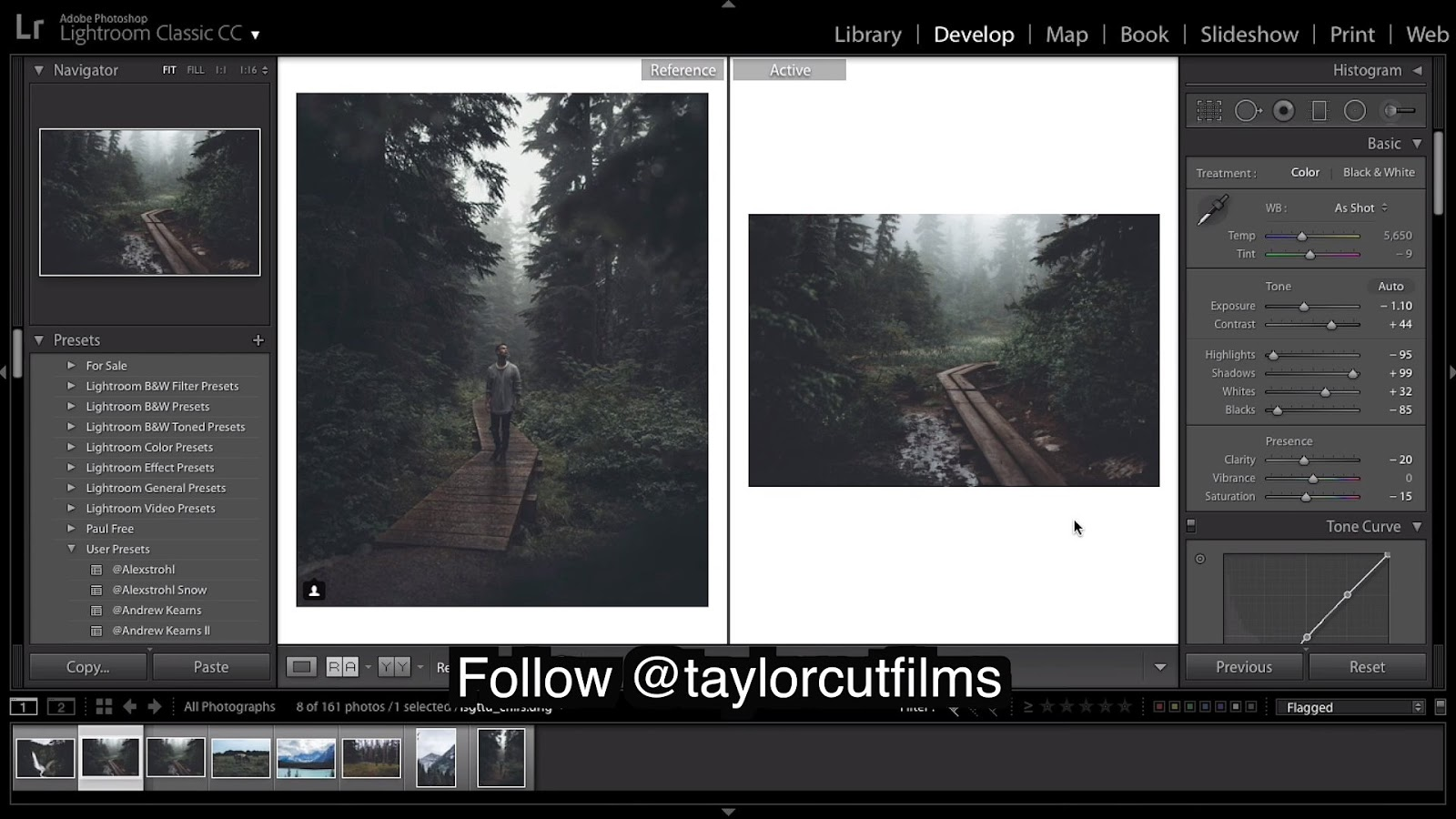 How to Edit MOODY DARK Images Like Taylorcutfilms