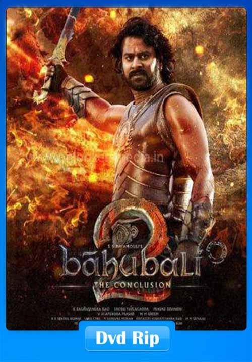 Baahubali 2 The Conclusion 2017 Malayalam DVDRip 500MB x264
