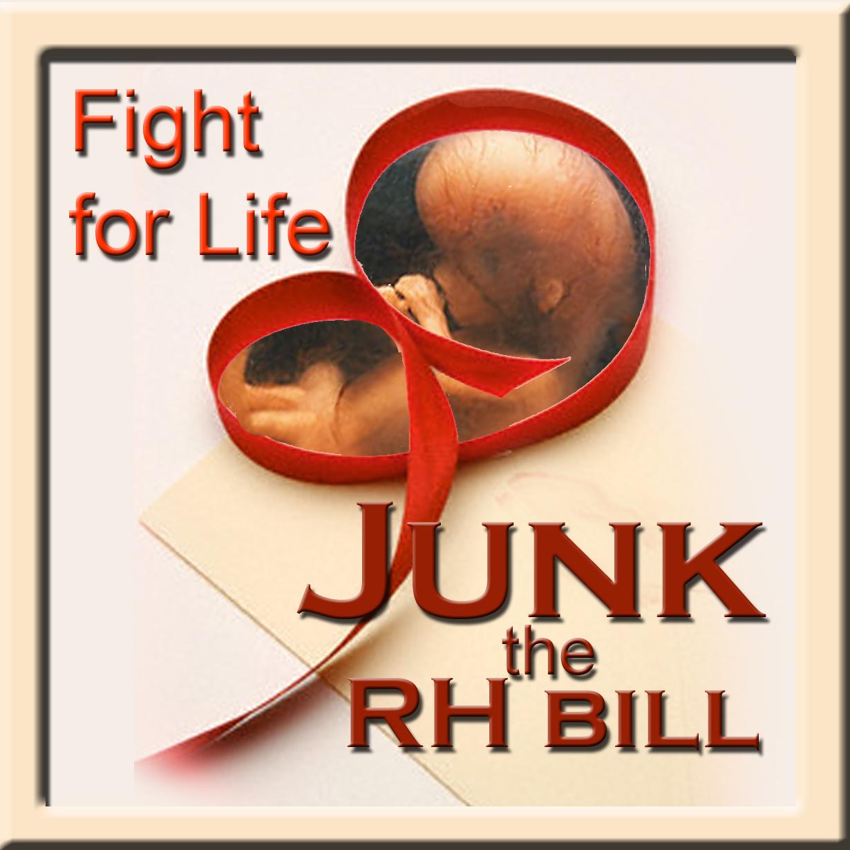 Why No to RH Bill?